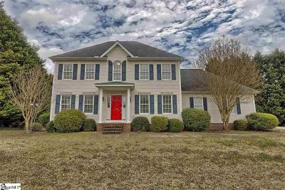 Easley Single Family Home For Sale: 103 Wren