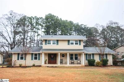 Greenville Single Family Home Contingency Contract: 221 Buckingham