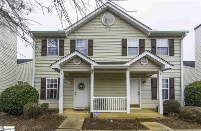 Greenville County Condo/Townhouse For Sale: 5 Hayfield