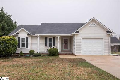 Simpsonville Single Family Home For Sale: 316 Fairdale