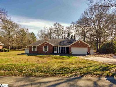Anderson Single Family Home For Sale: 221 Loblolly