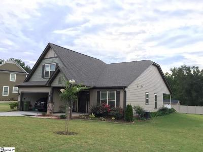Fountain Inn Single Family Home For Sale: 9 Donemere