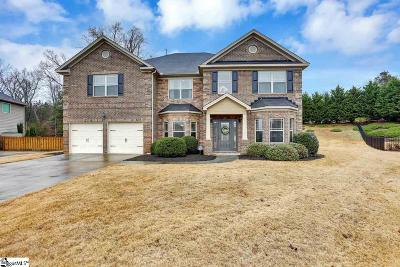 Simpsonville Single Family Home For Sale: 36 Governors Lake
