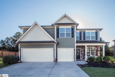 Simpsonville Single Family Home For Sale: 208 Bradbourne