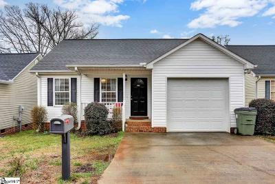 Greer Single Family Home For Sale: 206 Cosmic