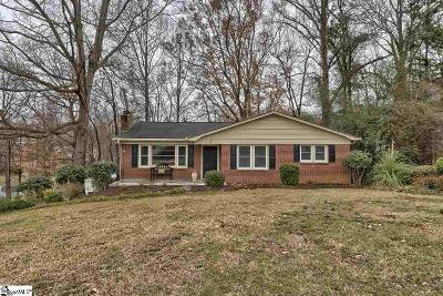 Greenville Single Family Home For Sale: 9 Conway