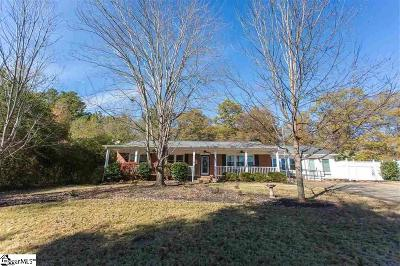 Inman Single Family Home For Sale: 110 Crestview