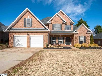 Greer Single Family Home For Sale: 404 Meadow Hill