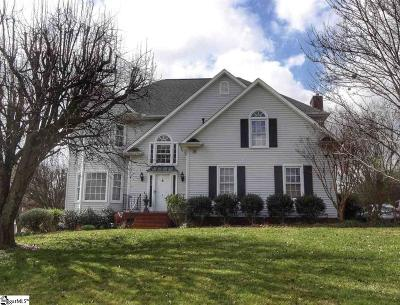 Greenville Single Family Home For Sale: 1 Middlecreek