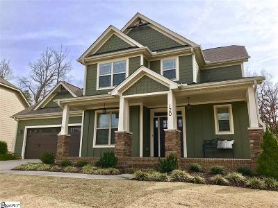 Greenville Single Family Home For Sale: 120 Beaumont Creek