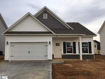 Simpsonville Single Family Home For Sale: 803 Camberwell #lot 371