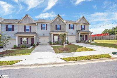 Greenville County Condo/Townhouse For Sale: 14 Double Branch