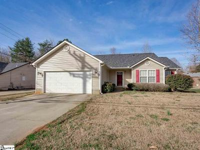 Greer Single Family Home For Sale: 1843 Hudson