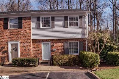 Greenville SC Single Family Home For Sale: $120,000