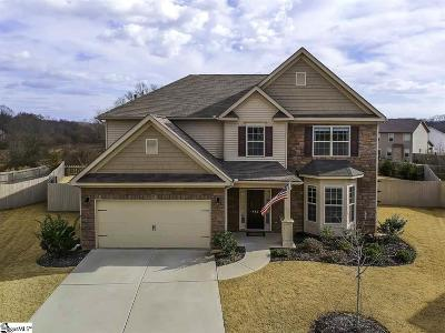 Easley Single Family Home For Sale: 412 Rowley