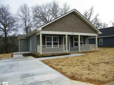Greer Single Family Home For Sale: 688 Ruddy Creek