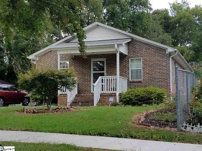 Greenville Single Family Home For Sale: 606 Hampton