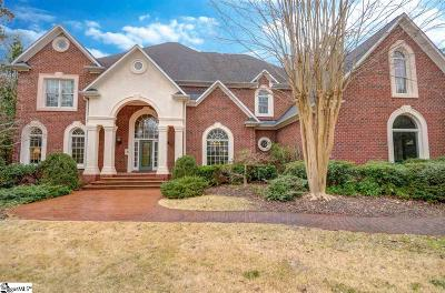 Spartanburg Single Family Home For Sale: 470 Carolina Club