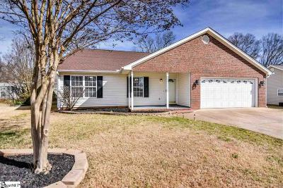 Greenville SC Single Family Home For Sale: $184,000