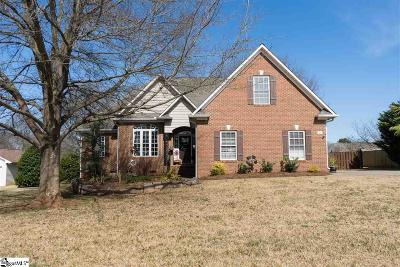 Inman Single Family Home For Sale: 267 Valleyhigh
