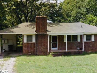 Greenville SC Single Family Home For Sale: $81,900