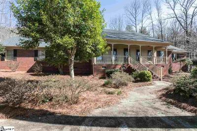 Greenville Single Family Home For Sale: 40 Bald Rock
