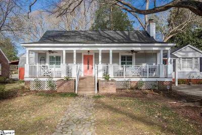 Greenville Single Family Home For Sale: 16 Cammer