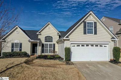 Simpsonville Single Family Home For Sale: 12 Twinings