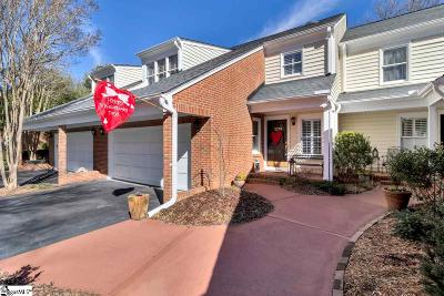 Greenville SC Condo/Townhouse For Sale: $319,900