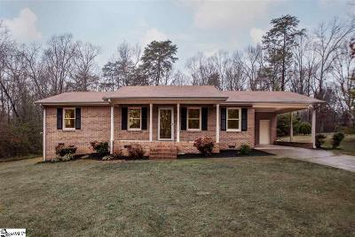 Anderson Single Family Home For Sale: 118 Overview