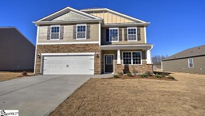Simpsonville Single Family Home For Sale: 1111 Downing Bluff