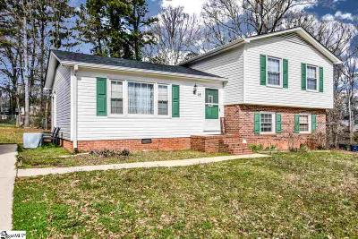 Simpsonville Single Family Home For Sale: 18 Chatwood