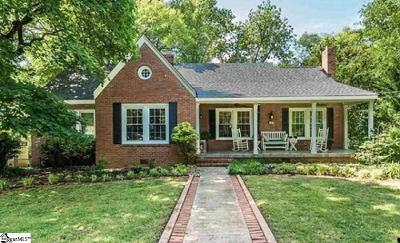 Greenville Single Family Home For Sale: 105 W Mountainview