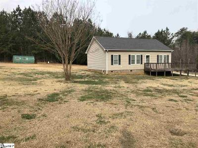 Travelers Rest Single Family Home Contingency Contract: 3423 Tigerville