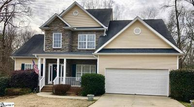 Simpsonville Single Family Home For Sale: 108 Brittle Creek