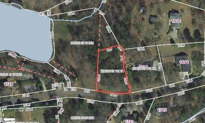 Greenville Residential Lots & Land For Sale: E Saluda Lake