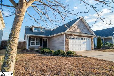 Greenville SC Single Family Home For Sale: $165,000