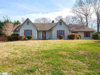 Simpsonville Single Family Home For Sale: 201 Oakfern
