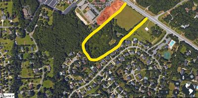 Simpsonville Residential Lots & Land For Sale: 2310 Woodruff