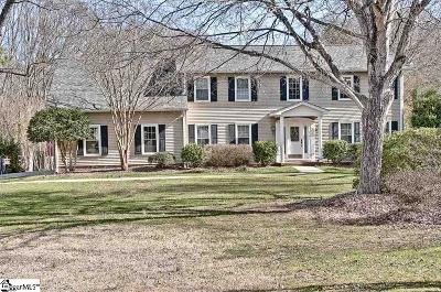 Simpsonville Single Family Home Contingency Contract: 901 Plantation