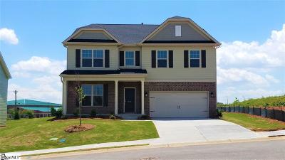 Greer Single Family Home For Sale: 266 Braselton #Lot 6