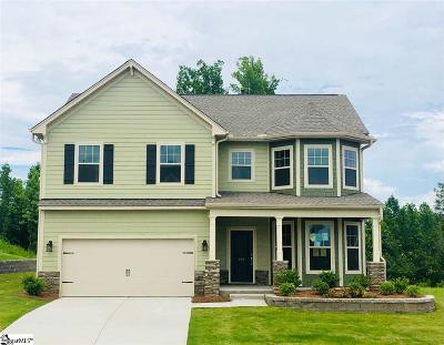 Single Family Home For Sale: 285 Braselton #Lot 47
