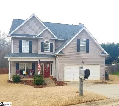 Simpsonville Single Family Home Contingency Contract: 16 Catbriar