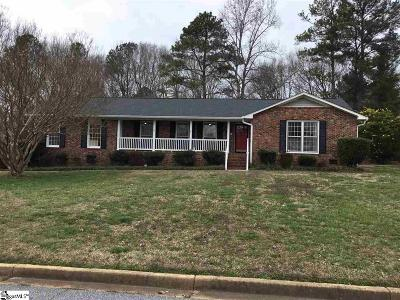 Spartanburg Single Family Home For Sale: 628 Stafford