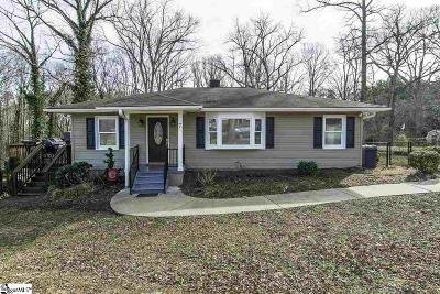 Inman Single Family Home For Sale: 7 Wofford