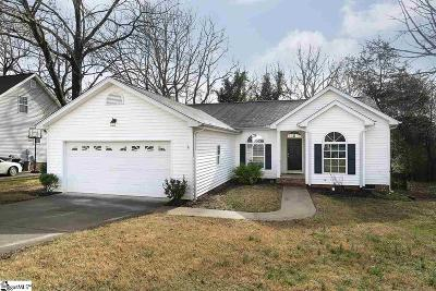 Greenville County Single Family Home For Sale: 414 Windy Meadow