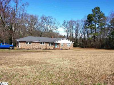 Anderson SC Single Family Home For Sale: $149,900