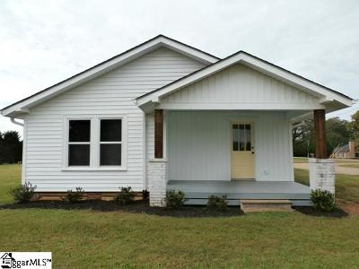 Taylors Single Family Home For Sale: 580 E Darby