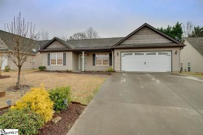 Moore SC Single Family Home For Sale: $210,000