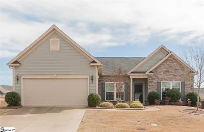 Simpsonville Single Family Home For Sale: 14 Young Harris